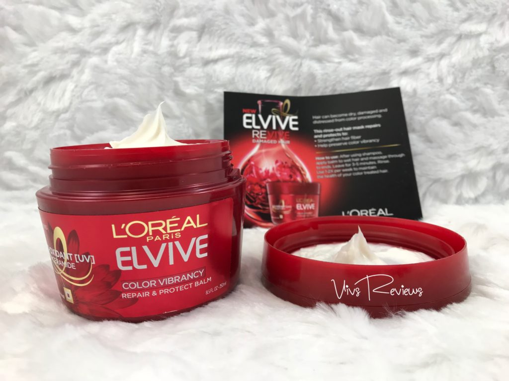 Elvive Revive Hair Mask review