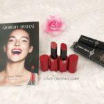 Giorgio Armani Ecstacy Shine Lipstick Review