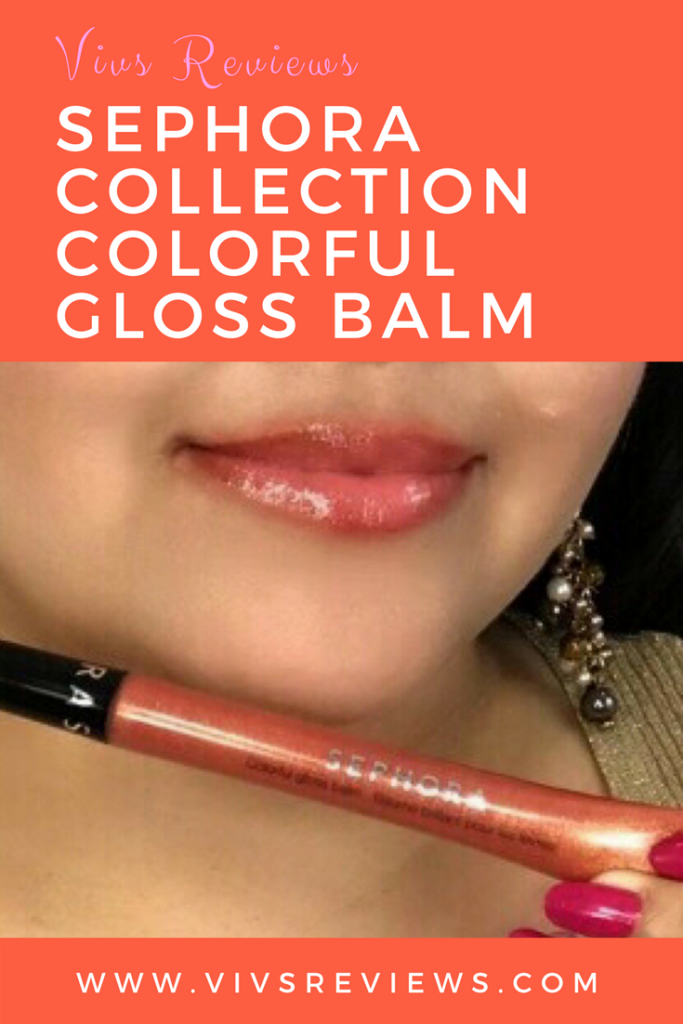 Sephora Collection Colorful Gloss Balm Review